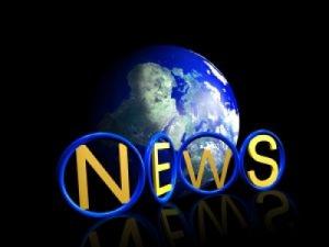 """Bilde av jordkloden og ordet """"News"""""""