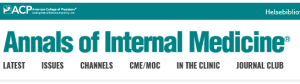 Foto: Annals of Internal Medicine